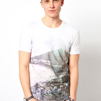 Esprit T-Shirt With Rio Print