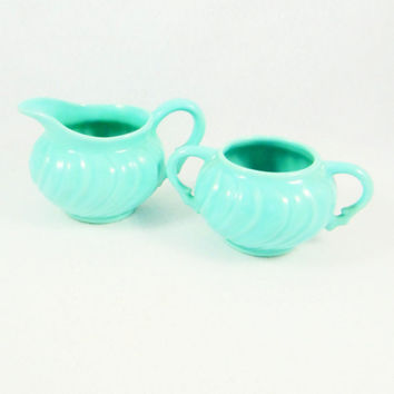 Franciscan Ware Coronado Sugar Bowl and Creamer