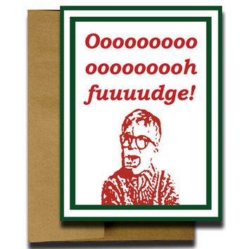 A Christmas Story Greeting Card - Funny Christmas Cards - Holiday Christmas Cards - Boxed Christmas Cards - Unique Christmas Cards 4.25x5.5