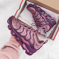Nike Air Vapormax Plus Triple White Running Sneakers Sport Shoes-21