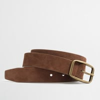 Factory suede belt