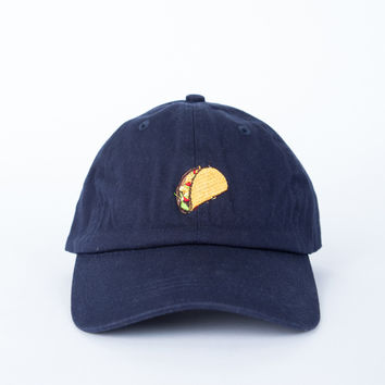 Crazy for Tacos Baseball Cap