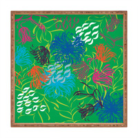 Vy La Bold Breezy Green Square Tray