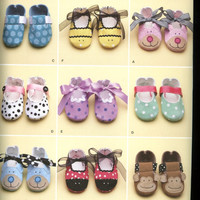 SIMPLICITY Pattern 2491 - Sewing Pattern - New Uncut - Baby Shoes - 9 Styles - Baby Accessories