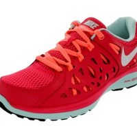 Nike Dual Fusion Run 2 Fusion Red/Pink Ladies Running Shoes