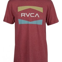 RVCA Nation Mens Tee | SundanceBeach.com