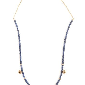 Diamond, sapphire & yellow-gold necklace | Jacquie Aiche | MATCHESFASHION.COM UK