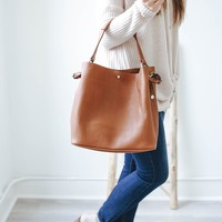 Edinburgh Bag - Cognac