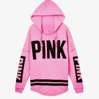Autumn Women Hoodies Victoria's Secret PINK Print Hoodie Fashion Sweatshirts