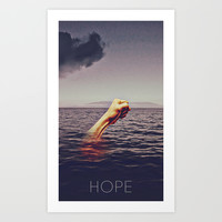 Hope Art Print by Galen Valle