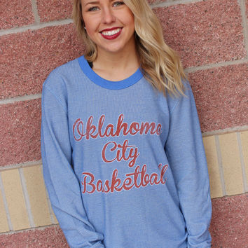 Oklahoma City Basketball Script thermal