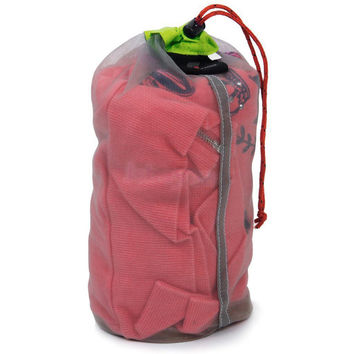 Tavel Camping Sports Ultralight Mesh Sack Drawstring For Sleeping Bag Stuff Storage Bag Travel Kits