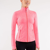 Lululemon Fashion Tight Zip Sports Running Cardigan Jacket Coat