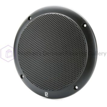 Poly-Planar 5 2-Way Coax-Integral Grill Speaker - (Pair) Black