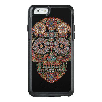 Colorful Flower Sugar Skull OtterBox iPhone 6/6s Case