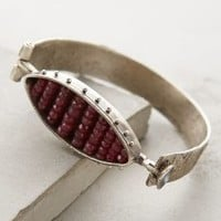 Rustic Ruby Bracelet by Eric Silva Jewelry Red One Size Bracelets