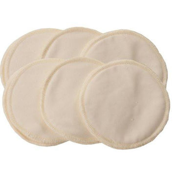 Glitzy Gals Washable Nursing Pads {Natural}