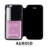 Chanel Nail Polish Sweet Lilac iPhone 6S Plus Flip Case Auroid