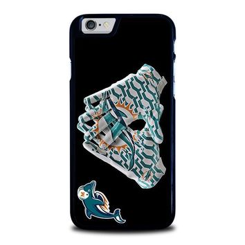 miami dolphins football iphone 6 6s case cover  number 1