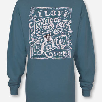 "Texas Tech Red Raiders ""Latte"" Long Sleeve"
