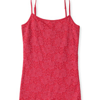 Lace-Front Basic Cami