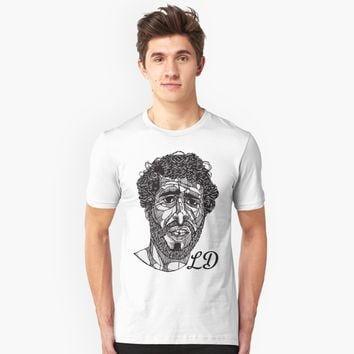 'Lil Dicky - Lines Initialed' T-Shirt by tommcollinss