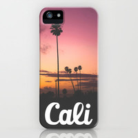Cali Sunset iPhone Case by Thecrazythewzrd | Society6