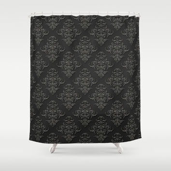 Victorian Pattern 2B Shower Curtain by pixel404