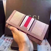 GUCCI WOMEN'S FASHION LEATHER WALLET