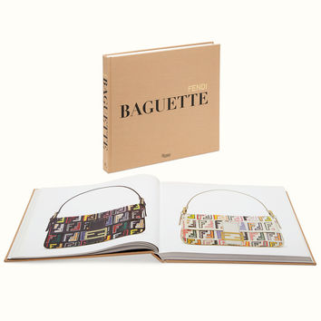 Hardcover book in English. - FENDI BAGUETTE | Fendi | Fendi Online Store