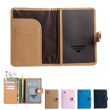 Travel Organizer ID Card Passport Holder Protector Cover Case Wallet New