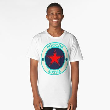 'Russian Star' Long T-Shirt by hypnotzd