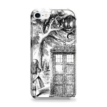 Alice In Wonderland and Cat doctor who box iPhone 6 | iPhone 6S Case