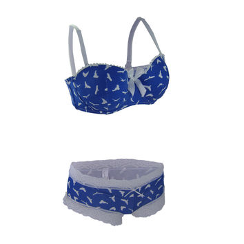 Push up Bra Set 30- 38b\c\d Fashion Bralette and Panty Strapless Women Underwear Sexy bra