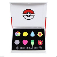 Pokemon Cosplay Anime Pocket Monster 8 Gym Badges