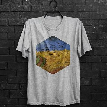 Van Gogh Shirt Crows Van Gogh T Shirt Van Gogh