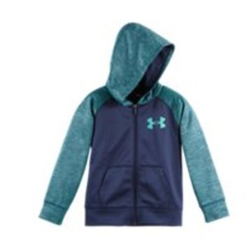 Under Armour Boys' Pre-School UA Twisted Armour Fleece Hoodie