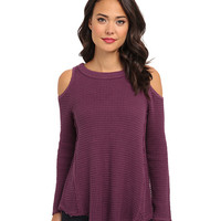 Free People Sunrise Pullover Sweater Peacock Purple - Zappos.com Free Shipping BOTH Ways
