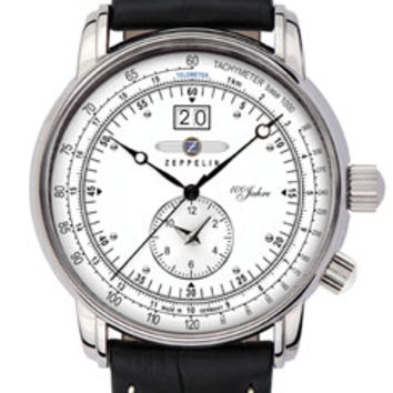 Graf Zeppelin 100 Years Dual Time Zone Watch 7640-4