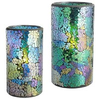 Peacock Mosaic LED Candles$18.95 - $26.95