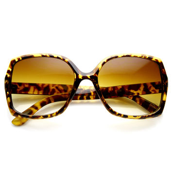 Designer Womens Fashion Sqaure Frame Sunglasses 8817