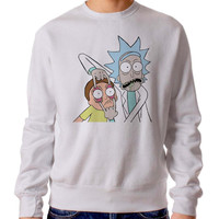 Rick And Morty Icon 3460 Sweater Man and Sweater Woman