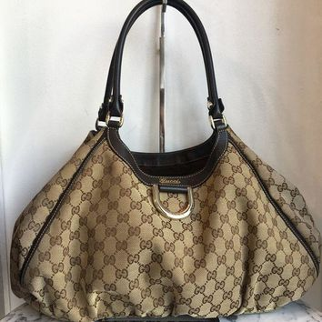 CREY3DS Gucci 'D-Ring Hobo' Bag