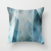 Solitude Throw Pillow by Cullen Rawlins