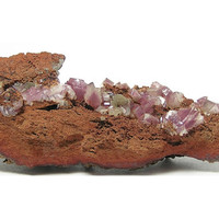 Purple Mangan Adamite Mineral Specimen Rare Natural Stones mined at Mina Ojuela Mexico in the 1980's Collector's Choice