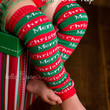 Merry Christmas Leg Warmers-Baby Leg Warmers-Baby Girl Clothes-Leggings-Toddler-Clothing-Christmas Outfit-Christmas Stockings-newborn Girl