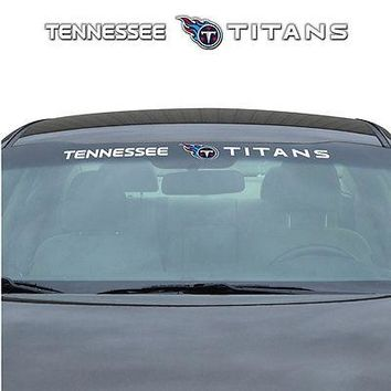Tennessee Titans NFL Licensed Auto Car Truck Windshield Decal