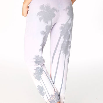 35MM Clothing: Jamie sweat pant in palm tree sunset – BlueHeavenBoutique.com