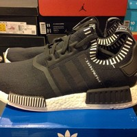 New DS Adidas NMD R1 PK Prime Knit S81849 Japan Grey Size 10.5