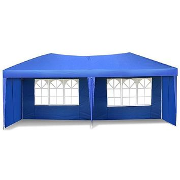 Easy Pop up Canopy Tent Large Heavy Duty Tent Folding Instant Canopy Gazebo Wedding Party Commercial Outdoor Shelter